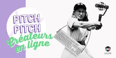 Soirée Pitch Pitch Créateurs en ligne