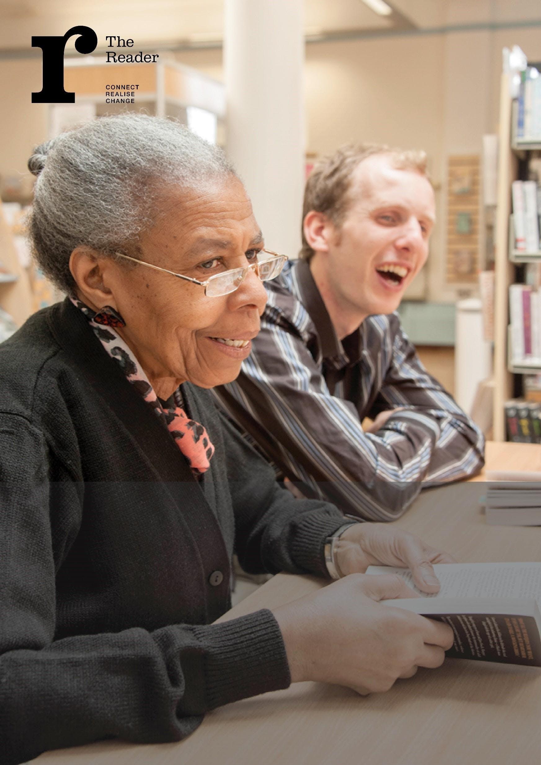 Shared Reading volunteering: taster and infor