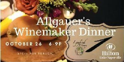 Allgauers & Lynfred Winery Winemaker Dinner