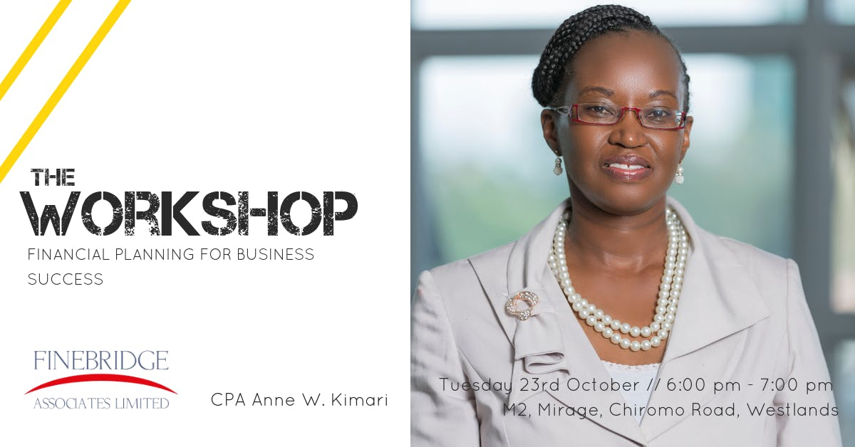 Workshop // Financial Planning for Business S