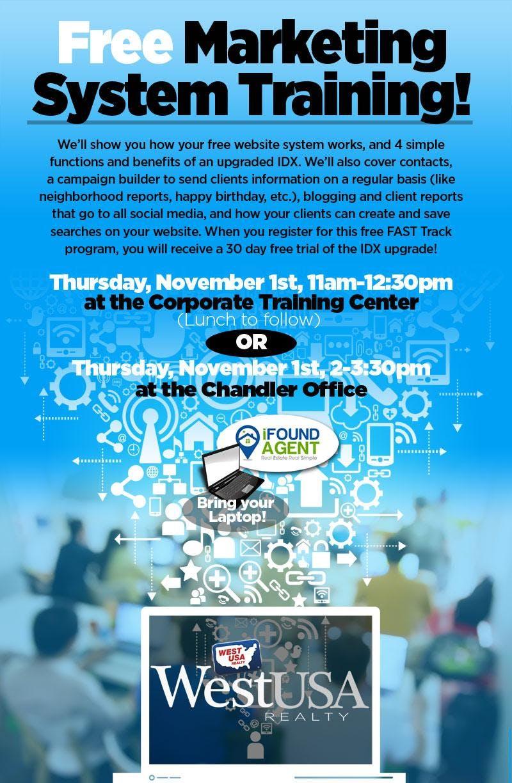 Marketing System Training - Corporate