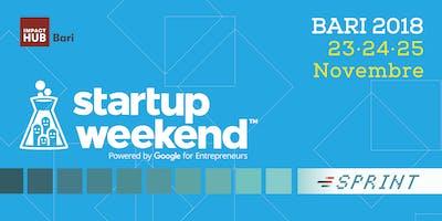 Techstars Startup Weekend Bari 2018