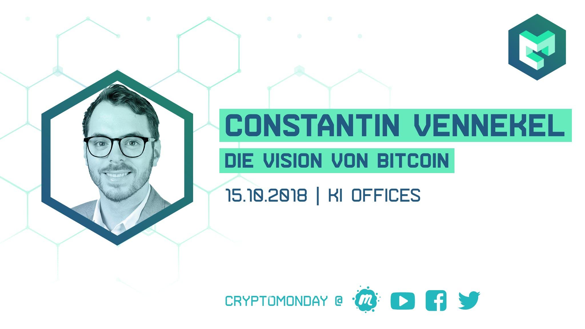 CryptoMonday | Die Vision hinter Bitcoin