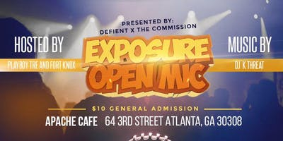 EXPOSURE OPEN MIC! - Powered by T.I.
