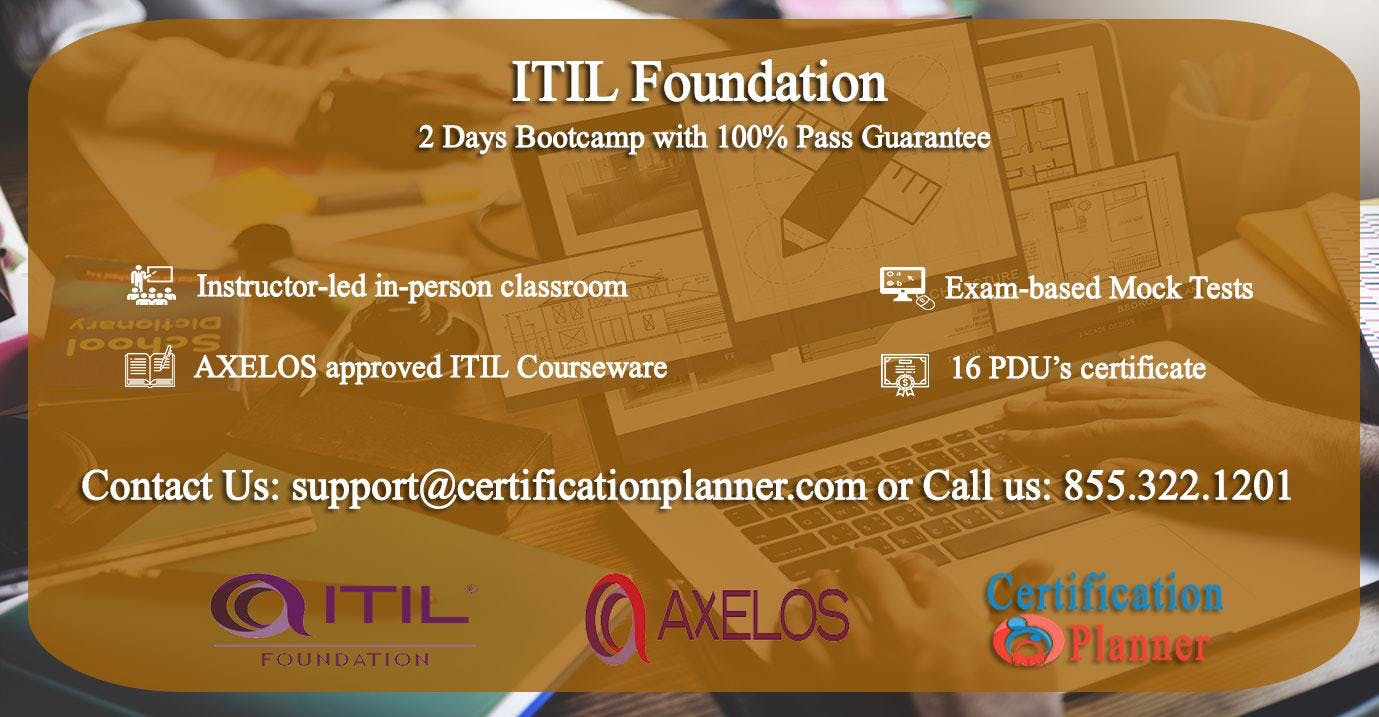 ITIL Foundation 2 Days Classroom in Sacrament