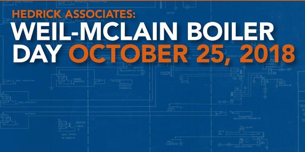 Weil-Mclain Boiler Day Tickets, Thu, Oct 25, 2018 at 9:00 AM ...