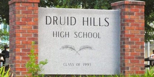 DRUID HILLS CENTENNIAL CELEBRATION CALENDAR