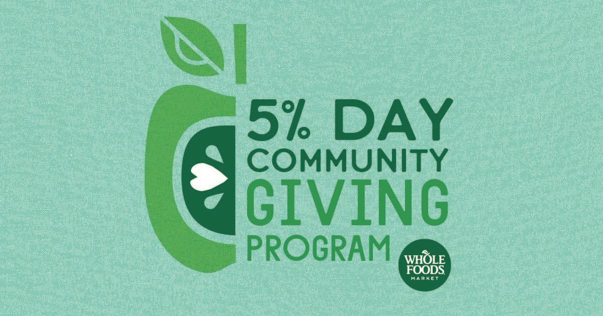 5% Community Giving Day benefiting Good Local