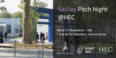 Saclay Pitch Night @HEC