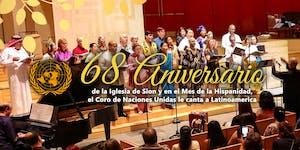 Sion 68 Anniversary, United Nations Choir