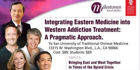 Integrating Eastern Medicine into Western Addition Treatment  tickets