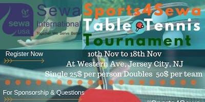 Sports For Sewa - Table Tennis 2018