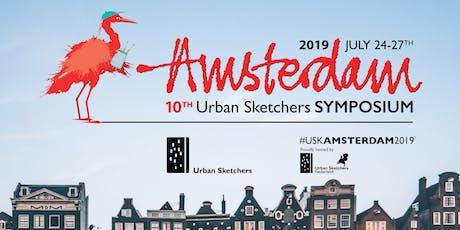 10th Urban Sketchers Symposium - Amsterdam 2019 Tickets