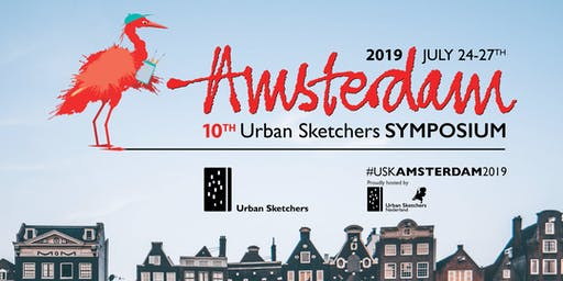 10th Urban Sketchers Symposium - Amsterdam 2019