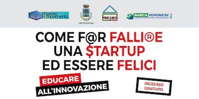 Come far fallire una startup ed essere felici - Incontro con Andrea Dusi