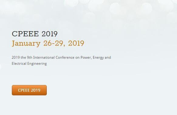 2nd International Conference on Power, Energy