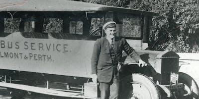 Vintage Bus Tour Through Belmont's History