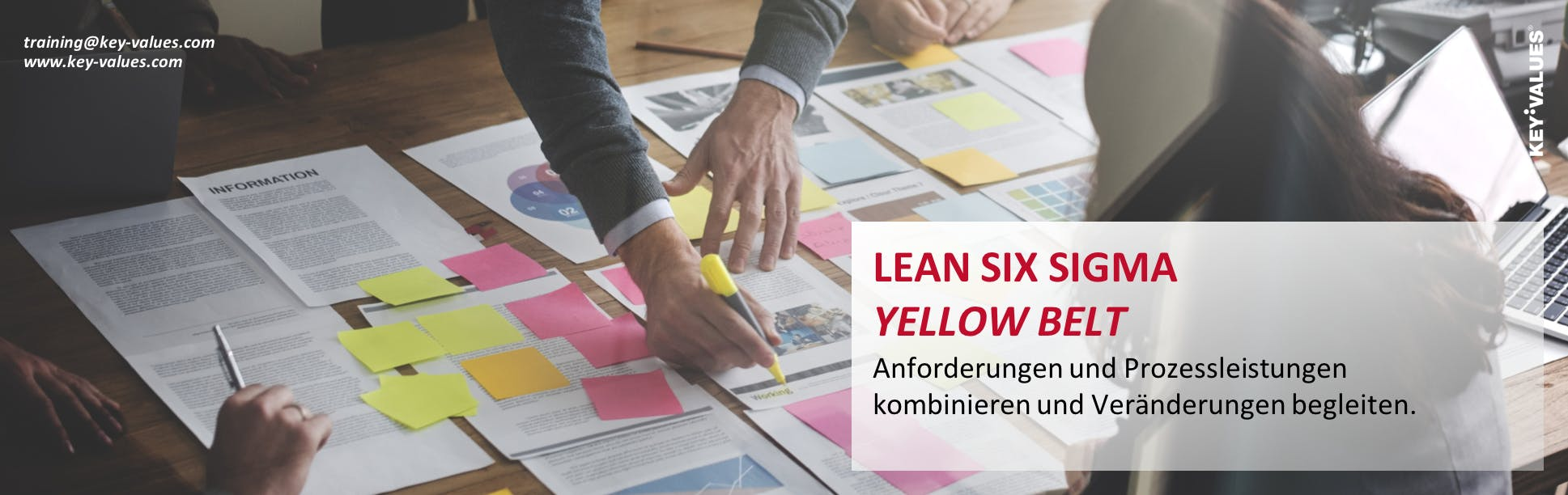 Lean Six Sigma Yellow Belt - Anforderungen un