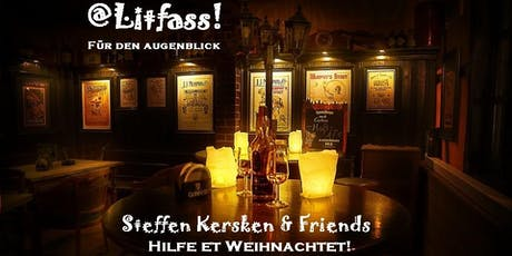 VIP-Bereich @Litfass!  Promi-Talk | Steffen Kersken & Friends 30.11.19 Tickets