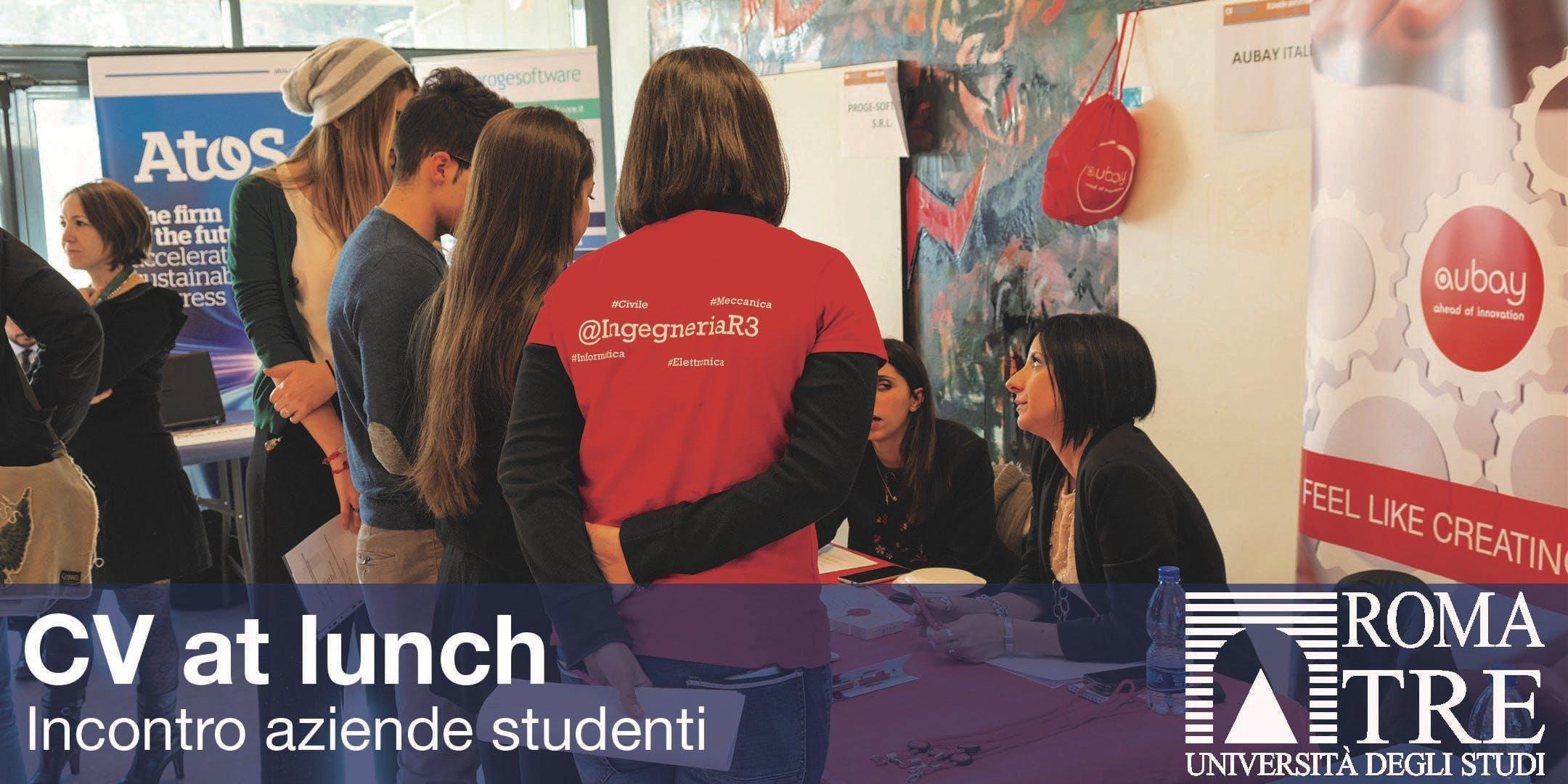 CV at lunch - incontro aziende studenti