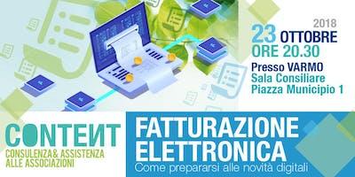 FATTURAZIONE ELETTRONICA Come prepararsi alle novità digitali - VARMO