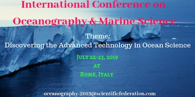 International Conference on Oceanography & Marine Science