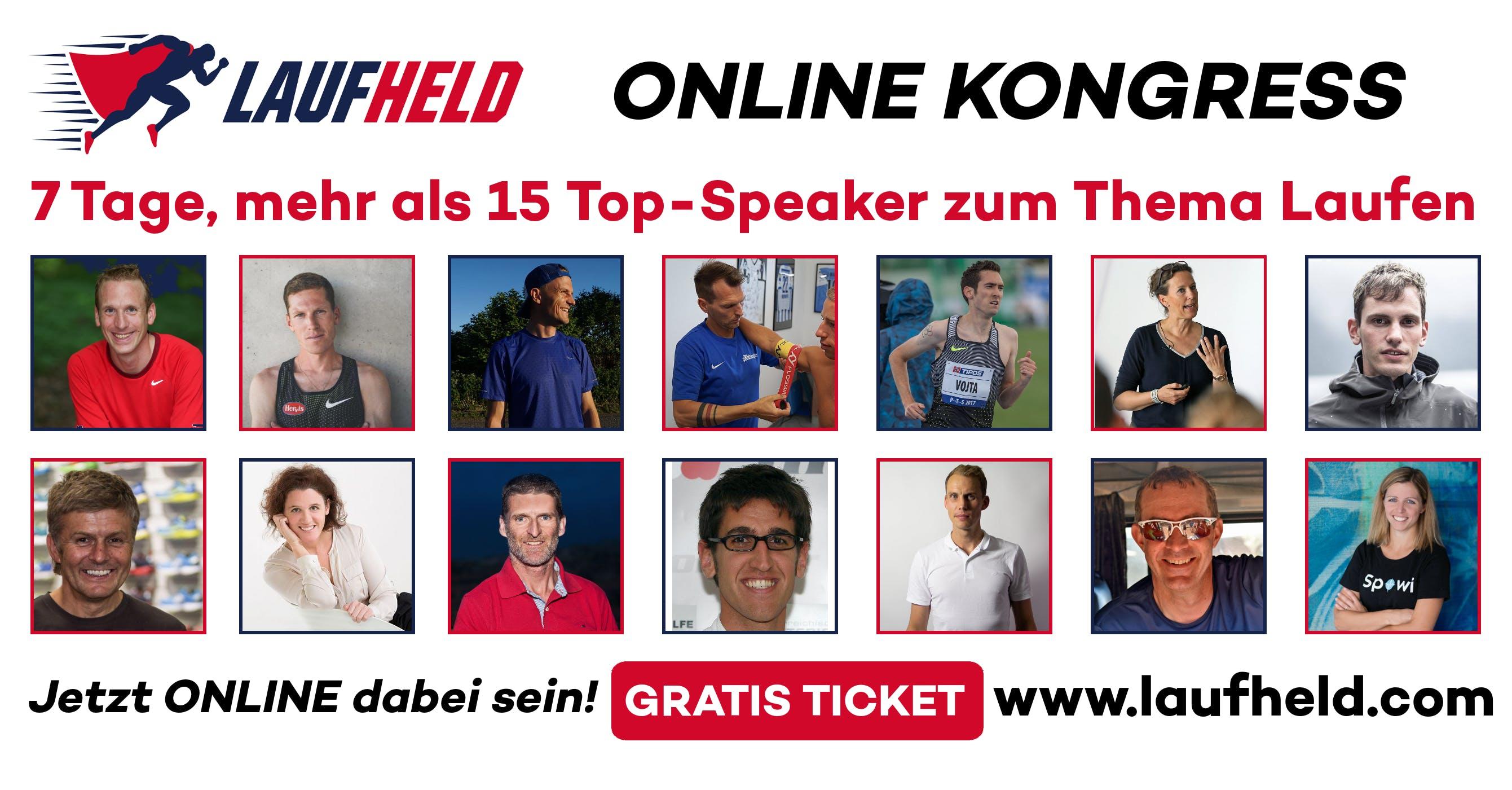 Laufheld Online Lauf-Kongress 2: Lerne in 7 Tagen von Top-Lauf-Experten (Zürich)