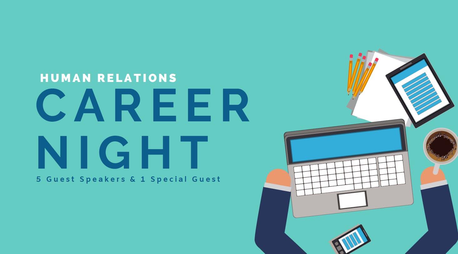 Human Relations Career Night (Postponed)