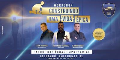 WORKSHOP CONSTRUINDO UMA VIDA ÉPICA