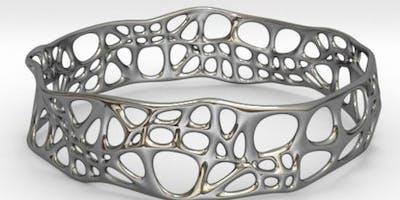 Jewellery Design Course - using Fluid Designer for 3D Printing (Parametric Blender)