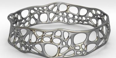 Jewellery Design Course - using Fluid Designer for 3D Printing (Parametric Blender)
