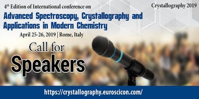 4th Edition of International conference on Advanced Spectroscopy, Crystallography and Applications in Modern Chemistry