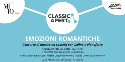 EMOZIONI ROMANTICHE  -  Concerto a CasArchè