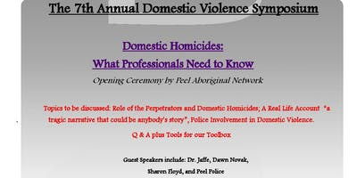Peel Family Mediation Services-The 7th Annual Domestic Violence Symposium