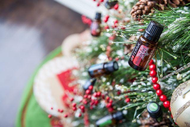 Christmas gift workshop with essential oils