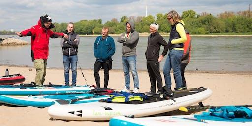 SUP Workshop River Rhein Safety - Juli