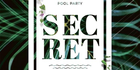 Secret Pool Party Tickets