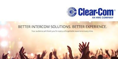 Clear-Com: Wireless, EclipseHX/Matrix & IP Intercom