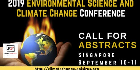 2019 Environmental Science and Climate Change Conference tickets