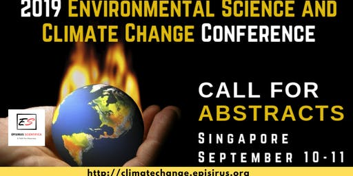 2019 Environmental Science and Climate Change Conference