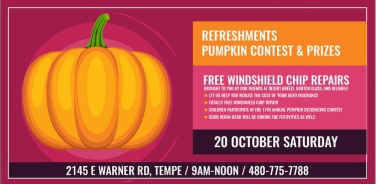 Mary Contreras State Farm Agency 17th Annual Pumpkin Patch 20 Oct 2018