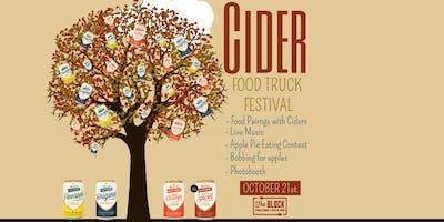 Cider & Food Truck Festival!