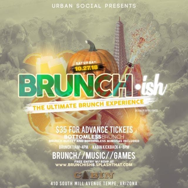 Brunch-ish: AYCE Brunch & Bottomless Mimosas