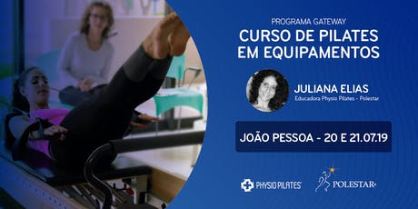 Curso de Pilates em Equipamentos - Physio Pilates Polestar - João Pessoa ingressos