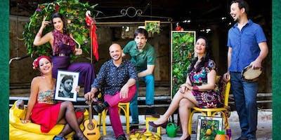 CARMEN MIRANDA tribute by vocal group ORDINARIUS