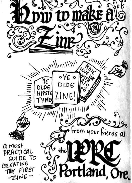 Learn Make Share: Zines Drop-in