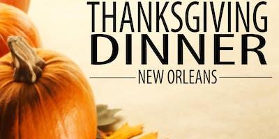 THANKSGIVING DINNER NEW ORLEANS