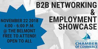 B2B Networking & Employment Showcase