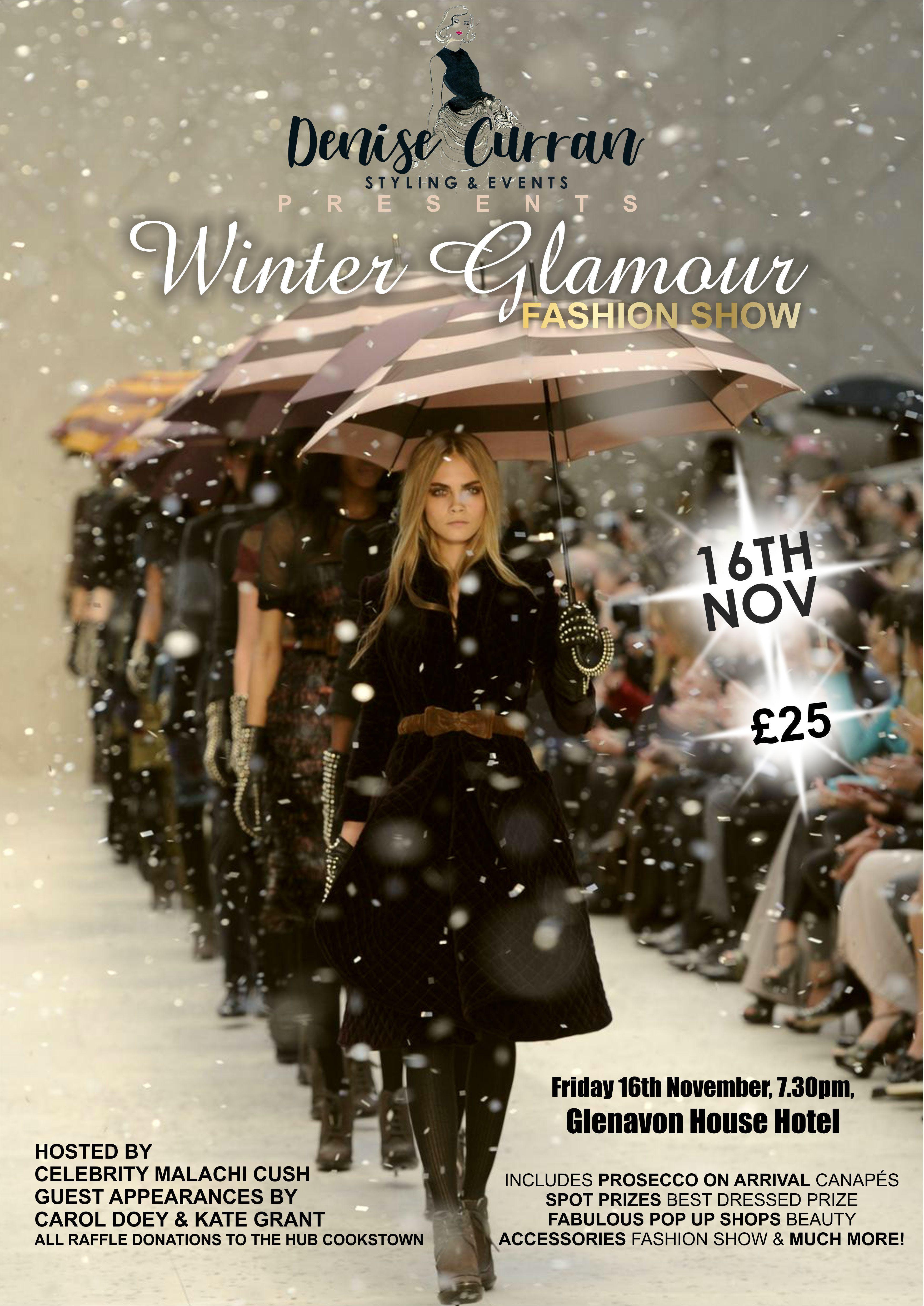 Denise Curran Winter Glamour Fashion Show at Glenavon Hotel