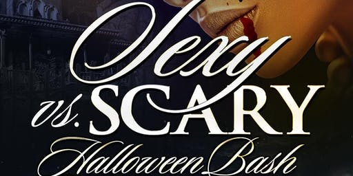 sexy vs scary halloween costume party